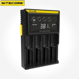 Cargador Nitecore 4 baterias